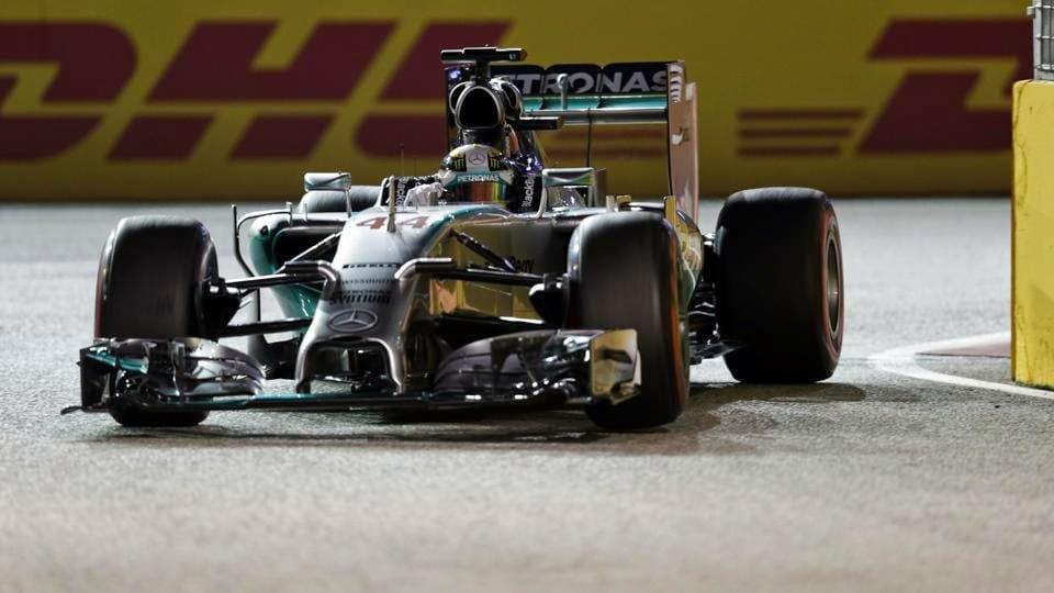 Grand Prix Σιγκαπούρης 2014 : νικητής ο Lewis Hamilton