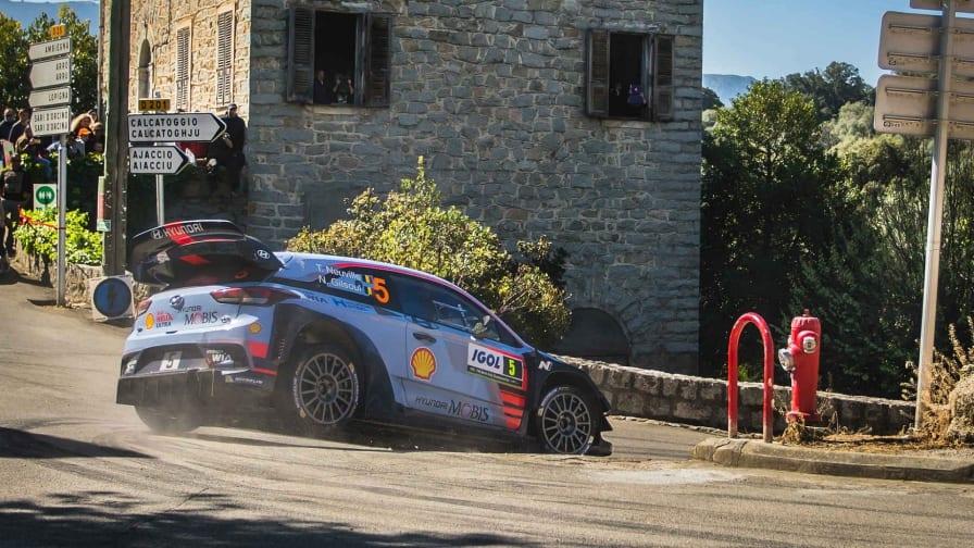 WRC: Ράλλυ Κορσικής 2017,Αποτελέσματα