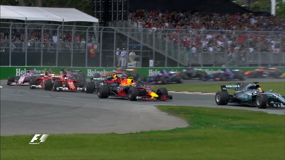 Grand Prix Καναδά 2017,Αποτελέσματα