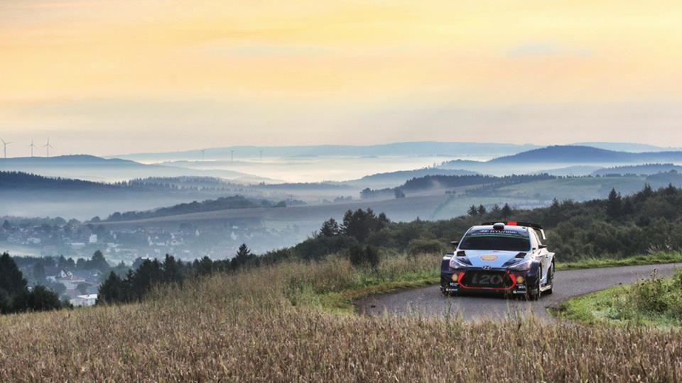 WRC: ADAC Rallye Deutschland 2017,Shakedown