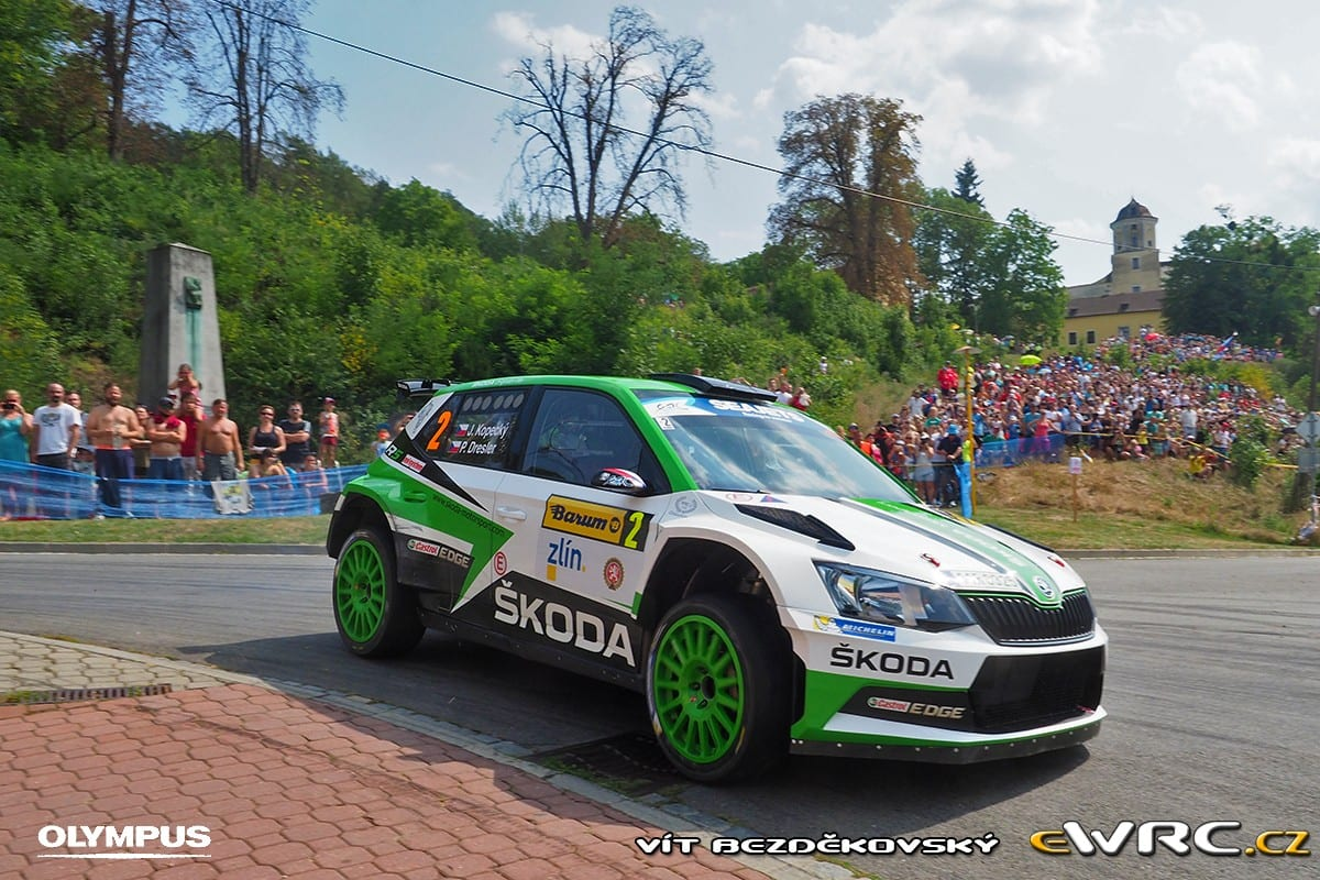 ERC: Barum Czech Rally Zlín 2017, Αποτελέσματα
