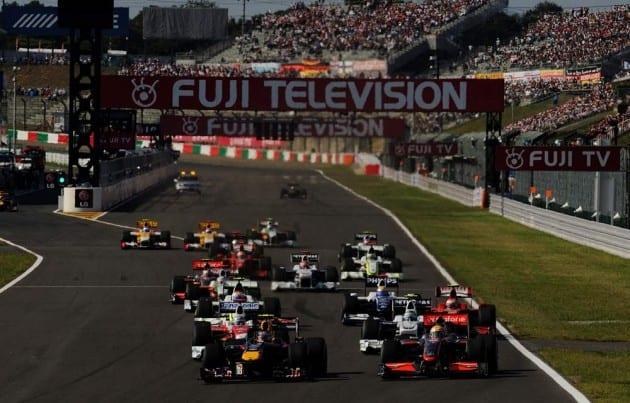Grand Prix Ιαπωνίας 2013 νίκη του Vettel