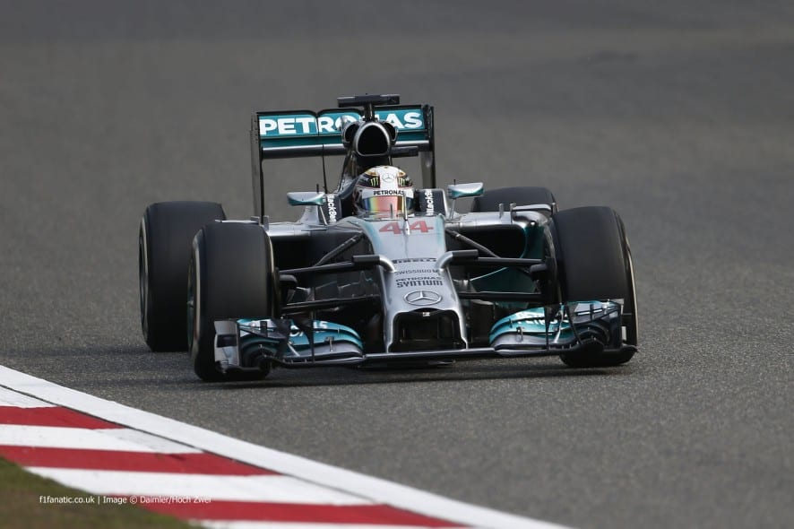 Chinese Grand Prix 2014 νικητής ο Hamilton