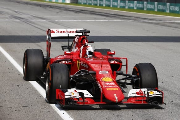 F1: Malaysian Grand Prix 2015,αποτελέσματα