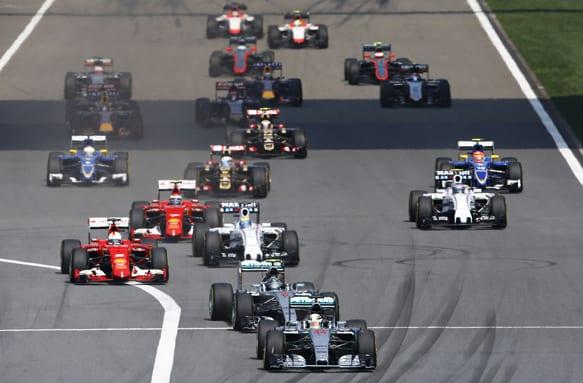 F1: Grand Prix Κίνας 2015,αποτελέσματα