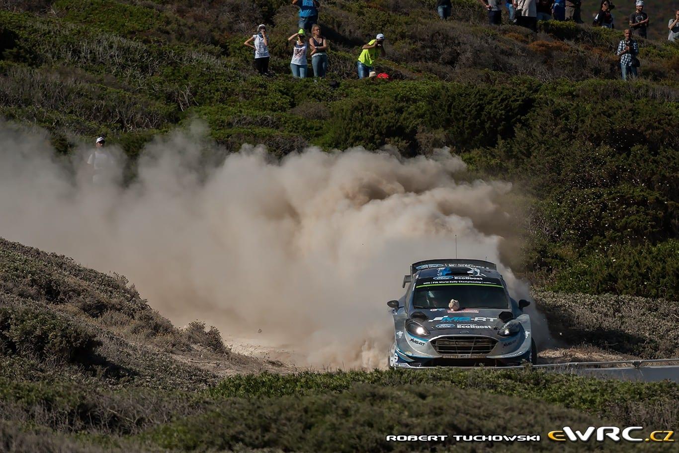 WRC: Ράλλυ Σαρδηνίας 2017, Αποτελέσματα