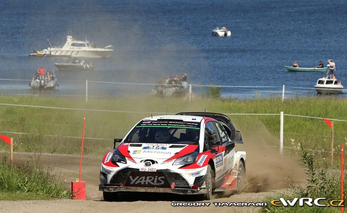WRC: Ράλλυ Φινλανδίας 2017, Αποτελέσματα