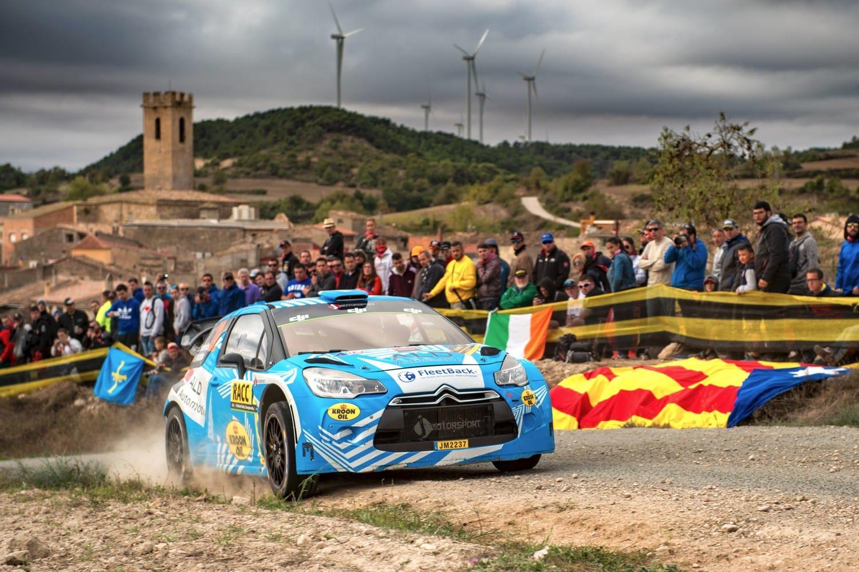 Κυμάτισε Η Ελληνική Σημαία Στον Τερματισμό Του Ράλλυ Καταλωνίας!